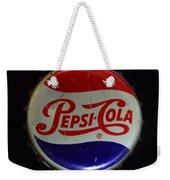 Vintage Pepsi Bottle Cap Weekender Tote Bag