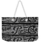 Vintage Pepsi Boxes Weekender Tote Bag