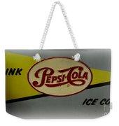 Vintage Pepsi Weekender Tote Bag