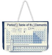 Vintage Periodic Table Of The Elements Weekender Tote Bag by Dan Sproul