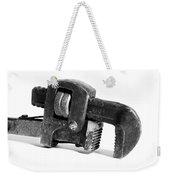 Vintage Pipe Wrench Weekender Tote Bag