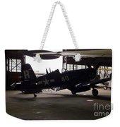 Vintage Planes Silhouette Weekender Tote Bag