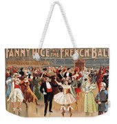 Vintage Poster Fanny Rice At The French Ball Weekender Tote Bag