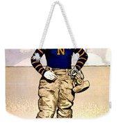 Vintage Poster - Naval Academy Midshipman Weekender Tote Bag