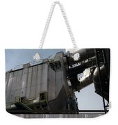 Vintage Power Plant  Part View Industrial Photography Weekender Tote Bag