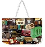 Vintage Radios Weekender Tote Bag