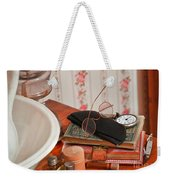 Vintage Reading Glasses Still Life Art Prints Weekender Tote Bag