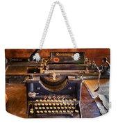 Vintage Remington Typewriter  Weekender Tote Bag