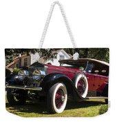 Vintage Rolls Royce Phantom Weekender Tote Bag