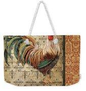 Vintage Rooster-a Weekender Tote Bag
