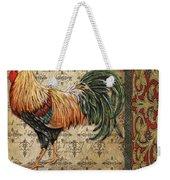 Vintage Rooster-d Weekender Tote Bag