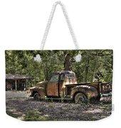 Vintage Rust Weekender Tote Bag by Benanne Stiens