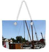 Vintage Sailing Boat - Ct Weekender Tote Bag