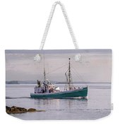 Vintage Sardine Carrier Michael Eileen Weekender Tote Bag