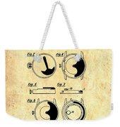 Vintage Self-winding Watch Movement Patent Weekender Tote Bag