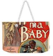 Vintage Sheet Music Cover Circa 1900 Weekender Tote Bag