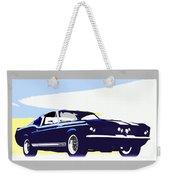 Vintage Shelby Gt500 Weekender Tote Bag