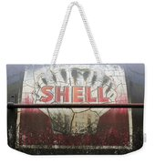 Vintage Shell Oil Rail Tanker Car Weekender Tote Bag