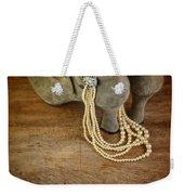 Vintage Shoes And Pearls Weekender Tote Bag