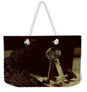 Vintage Skeleton Keys _tassle Nbr 3 Weekender Tote Bag