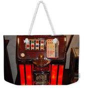 Vintage Slot Machine 25 Cents Weekender Tote Bag