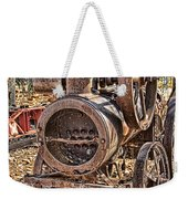 Vintage Steam Tractor Weekender Tote Bag