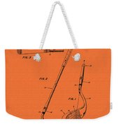 Vintage Stecher Gold Club Patent - 1960 Weekender Tote Bag