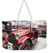Vintage Studebaker Fire Engine Weekender Tote Bag