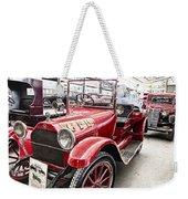 Vintage Studebaker Fire Engine Weekender Tote Bag by Douglas Barnard