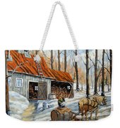 Vintage Sugar Shack By Prankearts Weekender Tote Bag