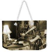 Vintage Swami Weekender Tote Bag