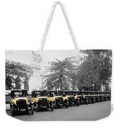 Vintage Taxis 3 Weekender Tote Bag