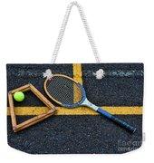 Vintage Tennis Weekender Tote Bag by Paul Ward