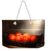 Vintage Tomatoes Weekender Tote Bag