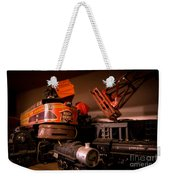 Vintage Toy Trains Weekender Tote Bag