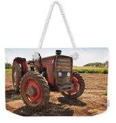 Vintage Tractor Weekender Tote Bag