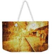 Vintage  Railway Portland Pa Usa Weekender Tote Bag