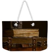 Vintage Travel Weekender Tote Bag