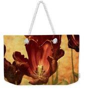 Vintage Tulips Weekender Tote Bag