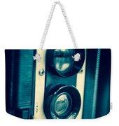 Vintage Twin Lens Reflex Camera Weekender Tote Bag by Edward Fielding