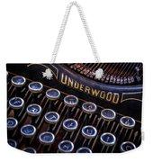 Vintage Typewriter 2 Weekender Tote Bag