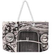 Vintage V8 Weekender Tote Bag