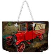 Vintage Van Weekender Tote Bag by Adrian Evans