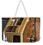 Vintage Vegas Weekender Tote Bag