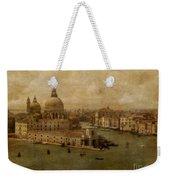 Vintage Venice Weekender Tote Bag
