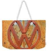 Vintage Volkswagen Bus Logo Weekender Tote Bag