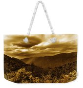 Vintage Weather Weekender Tote Bag