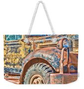 Vintage Welding Truck Weekender Tote Bag