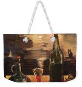 Vintage Wine Weekender Tote Bag