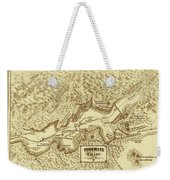 Vintage Yosemite Map 1870 Weekender Tote Bag